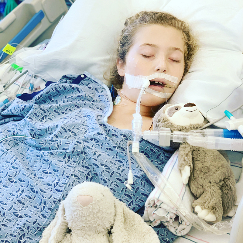 Avery - 11 year old with HoFH - Recovering from heart surgery