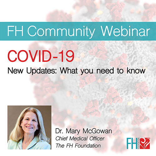 COVID-19 Webinar - New Updates: What you need to know