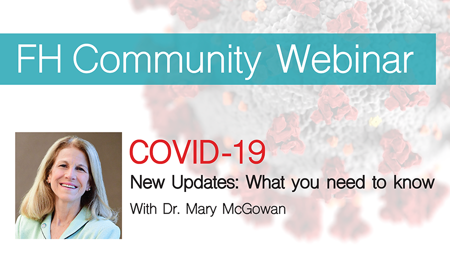 Webinar - COVID-19 New Updates: What you need to know