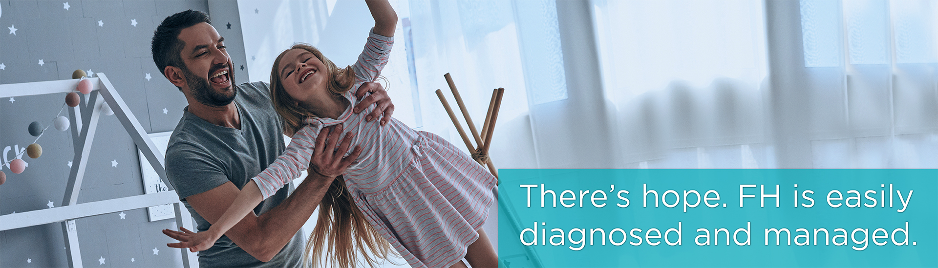 FH is easily diagnosed and managed.