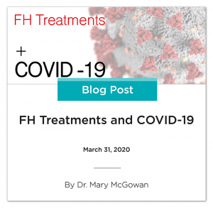 Familial hypercholesterolemia treatments and COVID-19