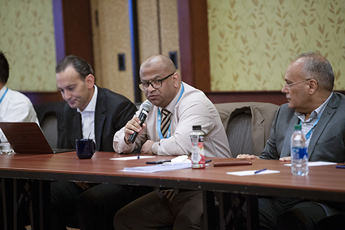 Dr. Alkhnifsawi at Global Call to Action meeting 2019