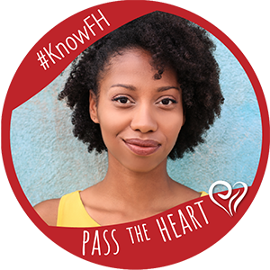 Pass the Heart Profile Frame