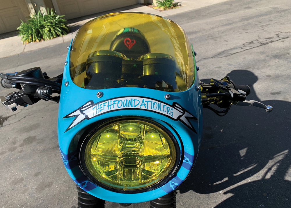 Motorcycle Saves Lives - Headlight and Window
