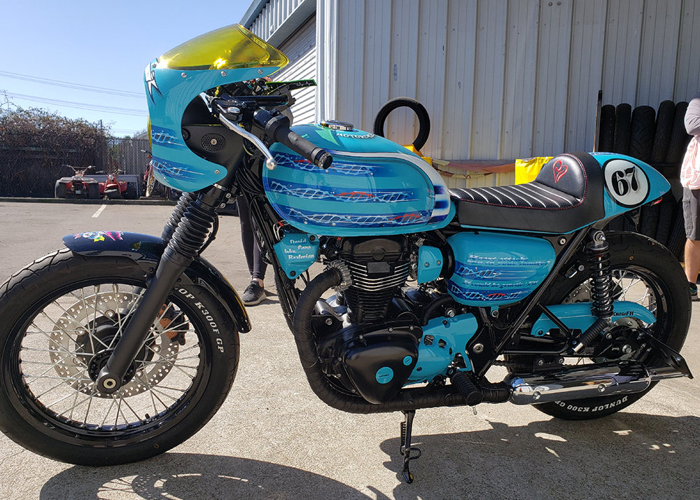 Motorcycle Saves Lives Bike Completed