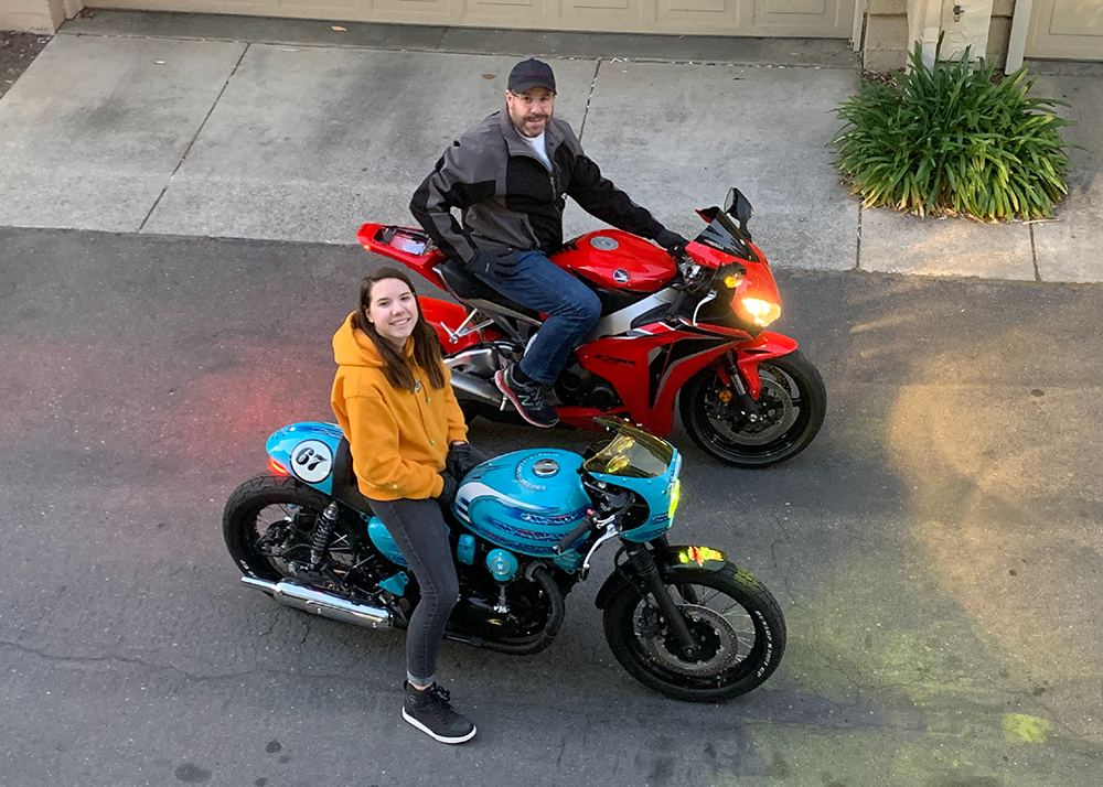 Scott & Cloe - Owners of Motorcycle Saves Lives