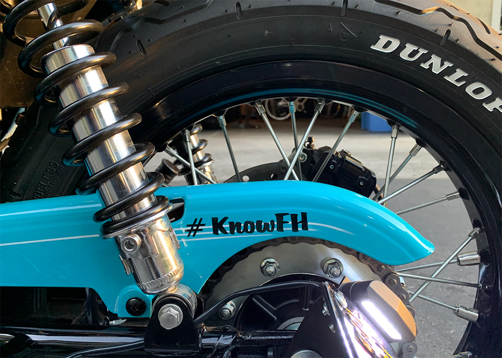 Motorcycle Saves Lives - Chain Guard - #KnowFH