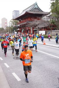 Michael Overstreet has run marathons all over the world, including in Tokyo, but without medication, his cholesterol is dangerously high. (ALL SPORTS COMMUNITY)