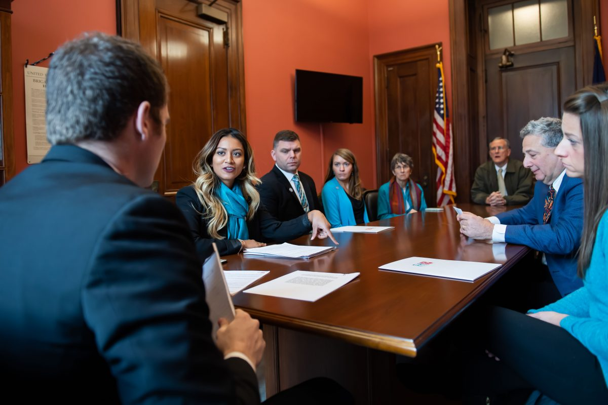 FH Foundation visits Capitol Hill