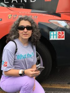 The FH Foundation's logo on one of the BMC Team's cars