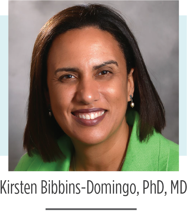 Kristen Bibbins-Domingo, PhD, MD 2019 FH Global Summit Keynote Speaker