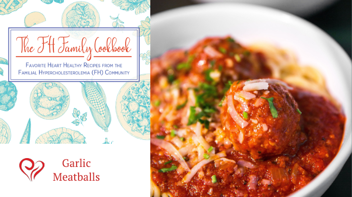 garlic meatball heart healthy recipe