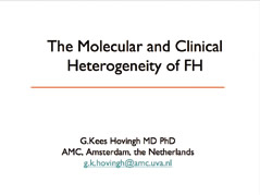 The Molecular and Clinical Heterogeneity of FH